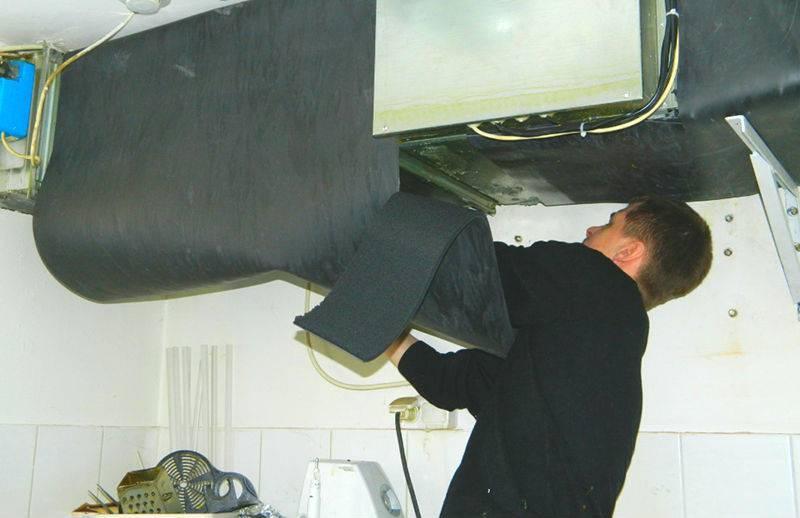 Самоклеющаяся изоляция для воздуховодов
