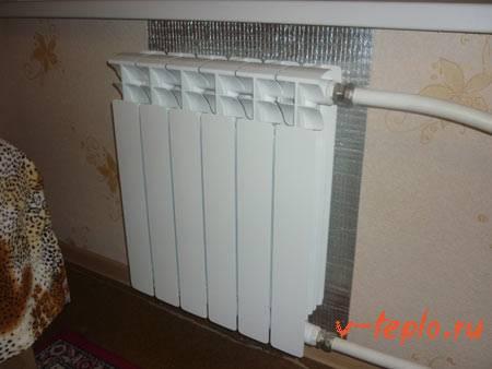 Расход газа на отопление