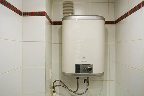 Установка накопительного водонагревателя своими руками на даче