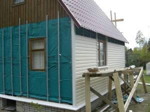 Утеплитель для дома из бруса снаружи
