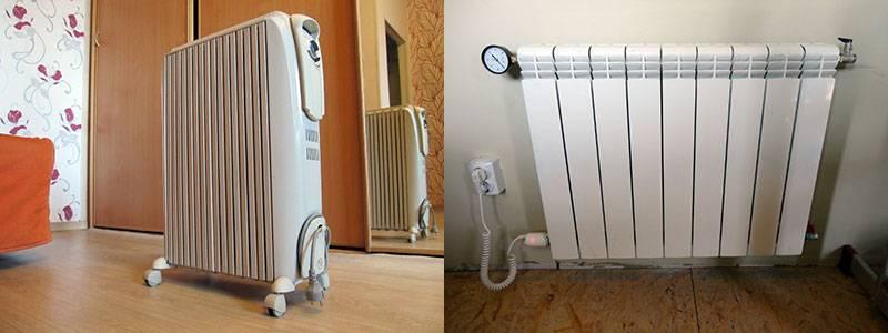 Масляные радиаторы для обогрева дачи