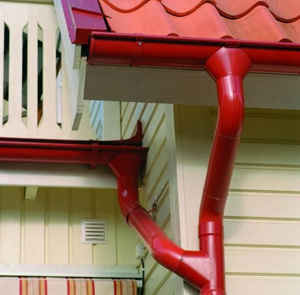 Оцинкованные водостоки для крыши