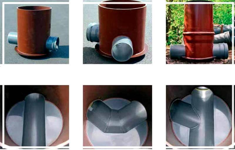 Пластиковые колодцы для водопровода