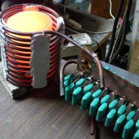 Индукционное отопление частного дома своими руками