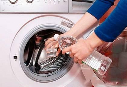 Чем удалить запах из стиральной машины автомат