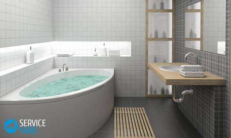 Протекает труба в ванной