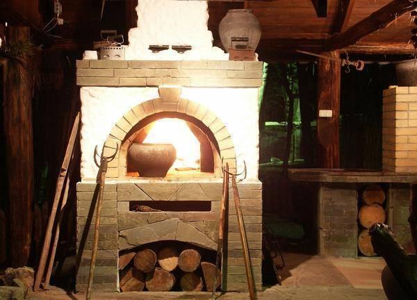 Русская печь в доме