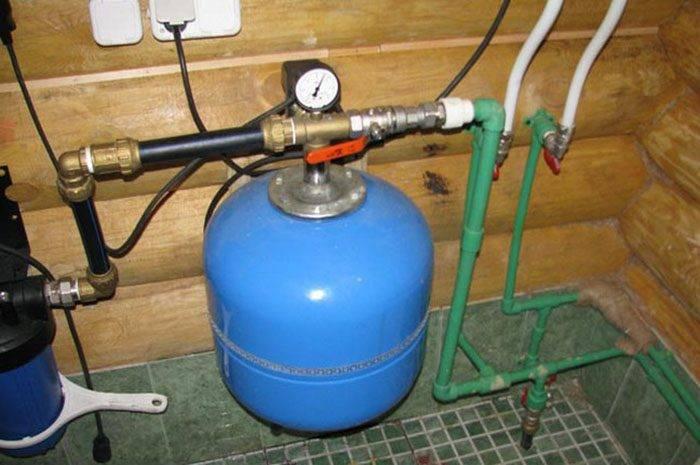 Подключение водяной станции