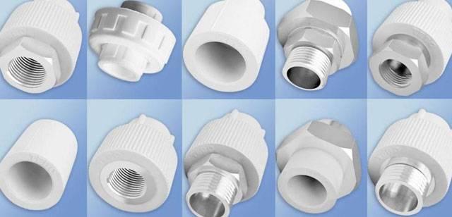 Фитинги для пластиковых труб под пайку