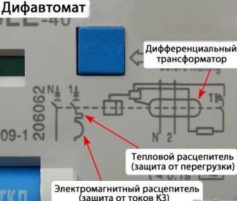 Как отличить дифавтомат от узо