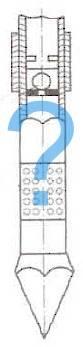 Обратный клапан на скважинный насос