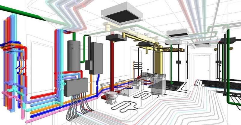 Проект системы отопления частного дома