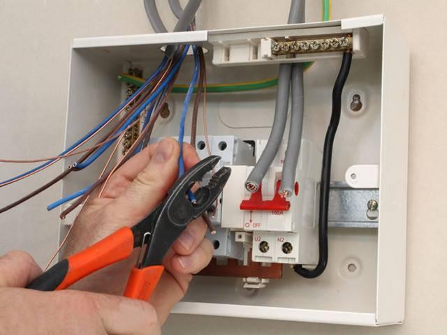 Щиток электрический для частного дома