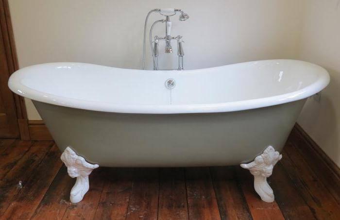 Сколько весит акриловая ванна