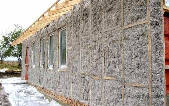 Утеплить брусовой дом снаружи