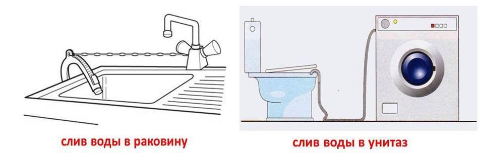 Как подключить стиральную машинку к канализации
