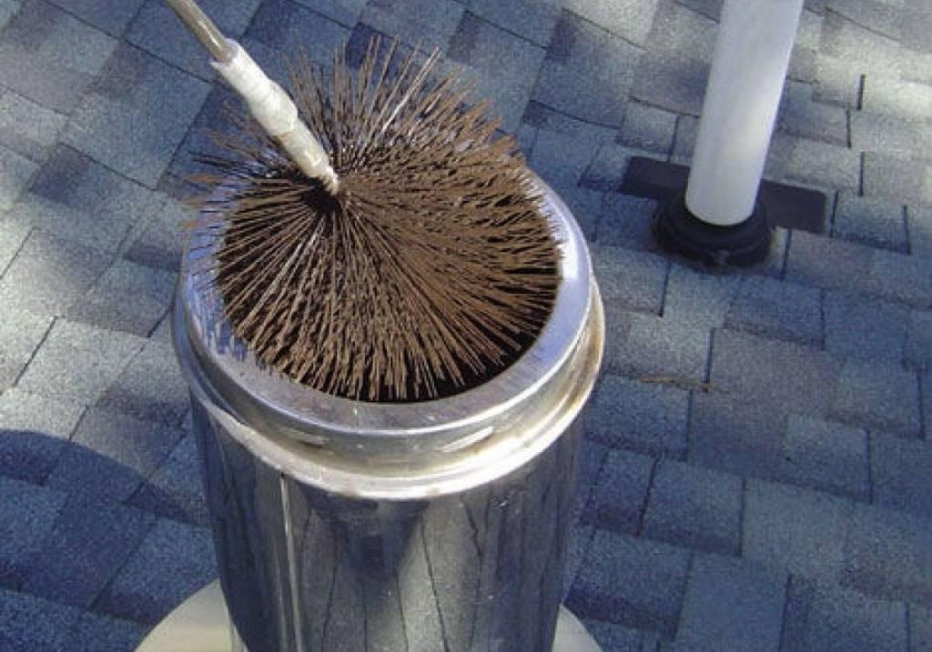Как очистить от сажи дымоход