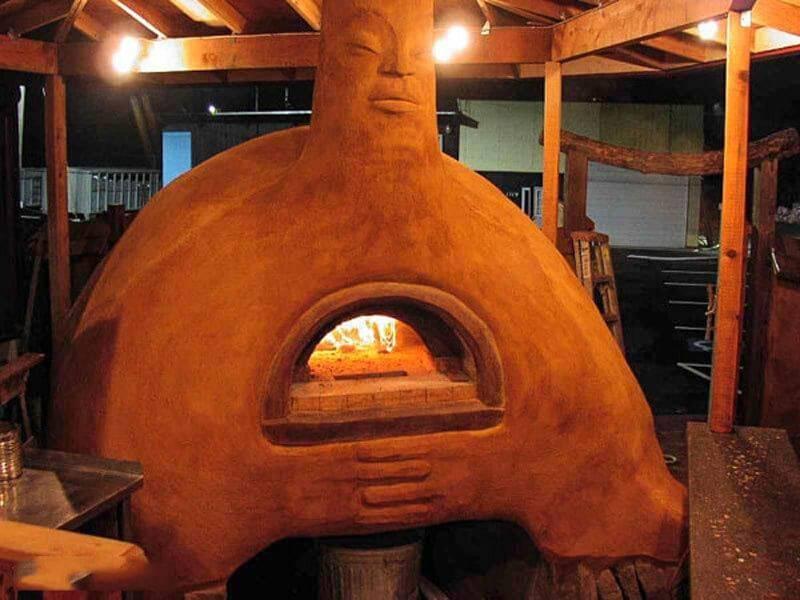 Глиняная печь