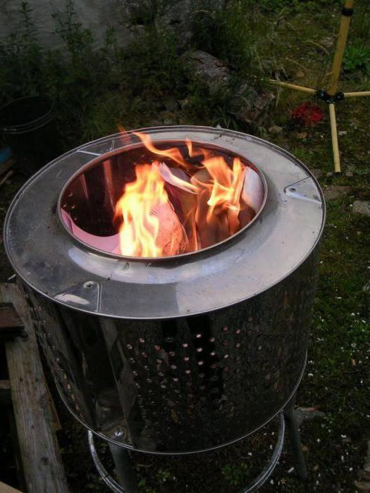 Садовая печь для сжигания мусора своими руками