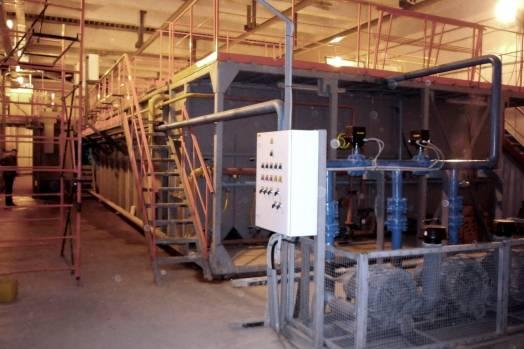 Очистные сооружения производственных сточных вод