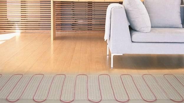 Теплый пол под деревянные полы
