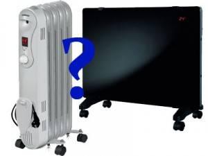 Что выбрать масляный обогреватель или конвектор