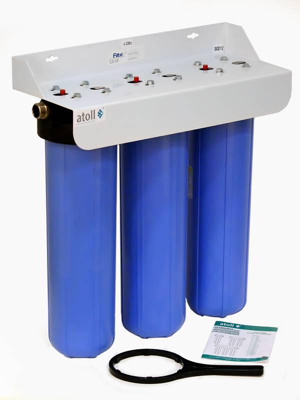 Фильтр на воду в квартиру на вход