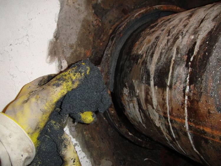 Герметик для канализационных труб пвх