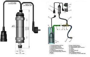 Блок автоматики для скважинного насоса
