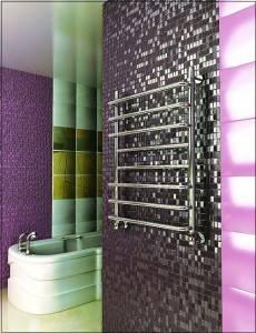 Как повесить полотенцесушитель в ванной