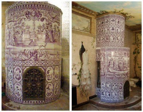 Керамический камин