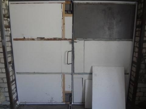 Утеплитель для стен внутри гаража