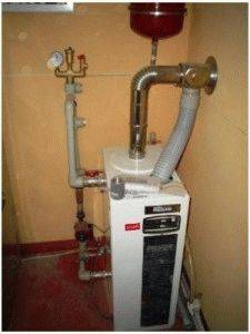 Котел отопления на дизельном топливе