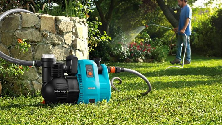 Дренажный насос для полива огорода из бочки