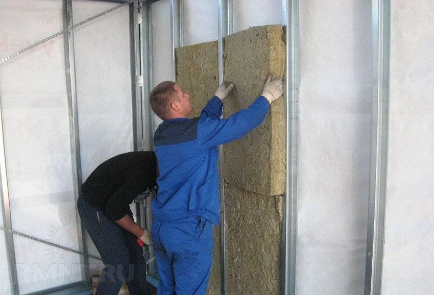 Как правильно утеплить стену