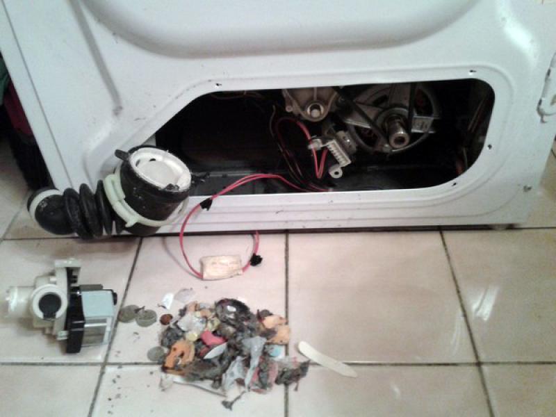 Не сливает воду стиральная машинка индезит
