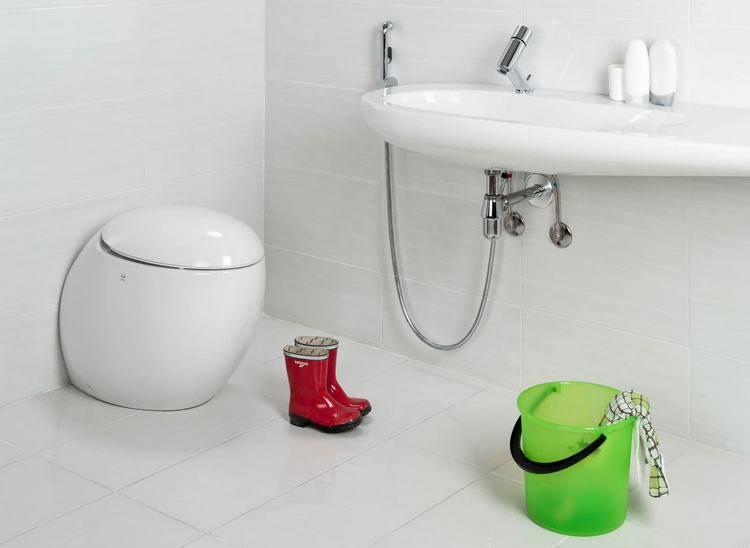 Душ для подмывания в туалете
