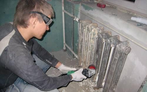 Подключение чугунных радиаторов отопления