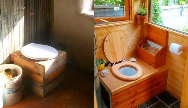 Откачка туалета на даче