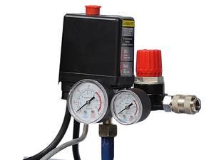 Подключение реле давления к компрессору