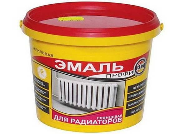 Краска для чугунных радиаторов отопления