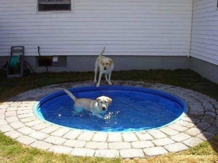 Самодельный каркасный бассейн