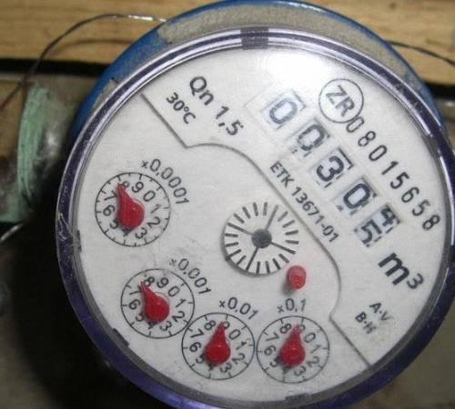 Как снимать счётчики воды