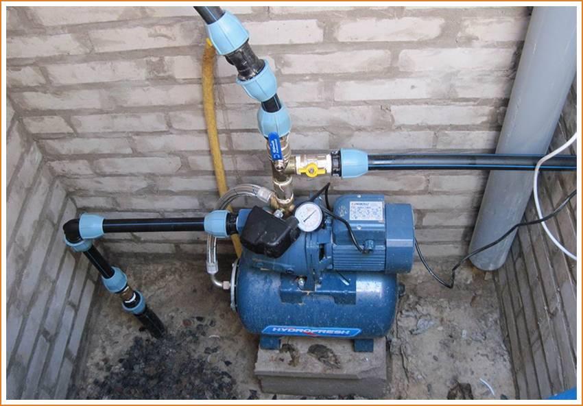 Станции водоснабжения для дома