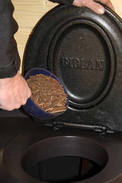 Биотуалет торфяной компостирующий