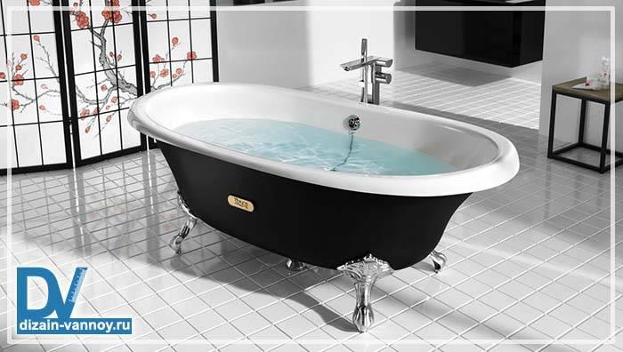 Длина чугунной ванны
