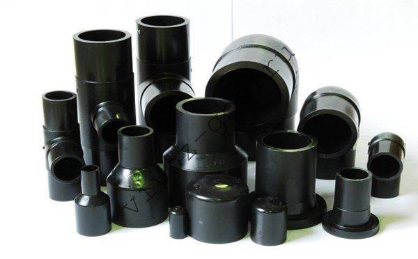 Фасонные части для полиэтиленовых труб водопровода