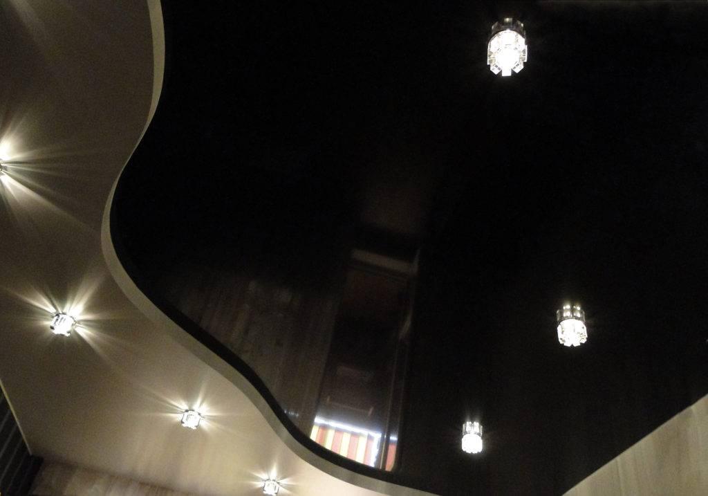 Светодиодные лампы в натяжной потолок
