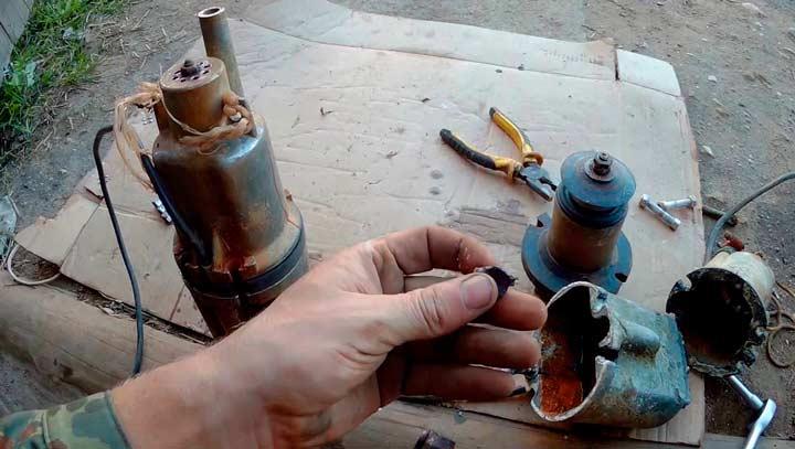 Электронасос ручеек 1 ремонт