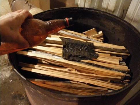 Печь на дровах длительного горения своими руками